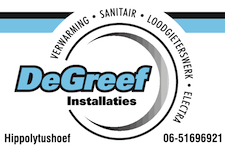 Logo De Greef Installaties Hippolytushoef